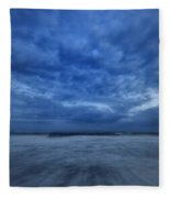 Dusk On Fire Island Fleece Blanket