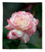 Dusty Pink Fleece Blanket