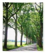 Dutch Country Road Fleece Blanket