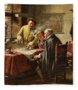 Dutch Merchants Fleece Blanket