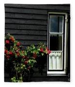 Dutch Window Fleece Blanket
