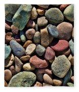 Dyed Stones Fleece Blanket