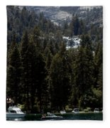 Eagle Falls Emerald Bay Fleece Blanket