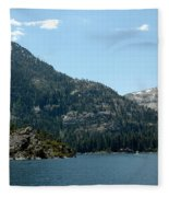 Eagle Falls In Emerald Bay Fleece Blanket