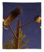 Eagles Suspended Fleece Blanket