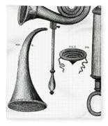 Ear Trumpets Fleece Blanket