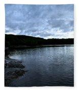 Early Am Shoreline Fleece Blanket