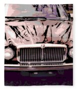Early Jaguar Xj6 Fleece Blanket