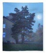 Early Morning Farmhouse Fleece Blanket