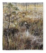 Early Morning Landscape Fleece Blanket