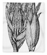 Ears Of Maize Fleece Blanket