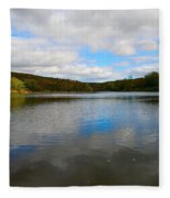 Earth Sky Water Fleece Blanket