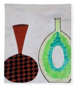Earthen Decorative Pottery Fleece Blanket