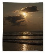 East Coast Sunrise Fleece Blanket