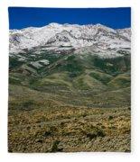 East Humboldt Range Fleece Blanket