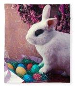 Easter Bunny Fleece Blanket