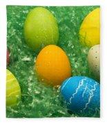 Easter Egg Seven 1 Fleece Blanket