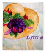 Easter Memories Fleece Blanket