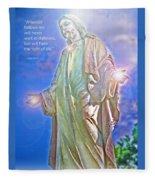 Easter Miracle Fleece Blanket