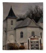 Ebenezer Arp Church Fleece Blanket