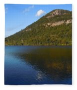 Echo Lake Franconia Notch New Hampshire Fleece Blanket