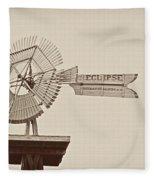 Eclipse Windmill 3578 Fleece Blanket