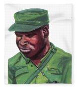 Eduardo Mondlane Fleece Blanket