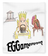 Eggamemnon Fleece Blanket