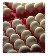 Eggs Fleece Blanket