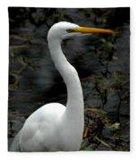 Egret Fleece Blanket