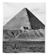 Egypt: Cheops Pyramid Fleece Blanket