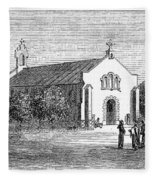 Egypt: El Guisr Church, 1869 Fleece Blanket