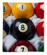 Eight Ball Fleece Blanket