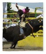 Rodeo Eight Seconds Fleece Blanket