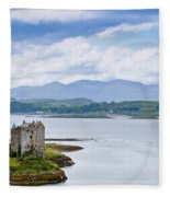 Eilean Donan Castle Fleece Blanket
