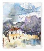 El Alcornocal 07 Fleece Blanket