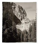 El Capitan Meets The River Fleece Blanket