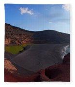 El Golfo Panorama Fleece Blanket