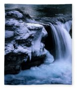 Elbow Falls Fleece Blanket