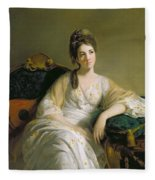 Eleanor Francis Grant - Of Arndilly Fleece Blanket