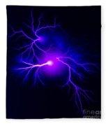 Electric Spark Fleece Blanket
