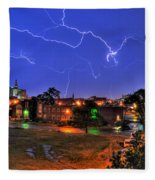 Electrifying Canvases Of Nature Fleece Blanket
