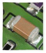Electronics Board With Lead Solder Fleece Blanket