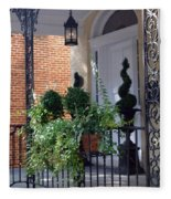 Elegant Entrance Fleece Blanket