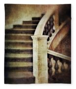 Elegant Staircase Fleece Blanket