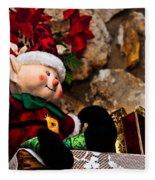 Elf On Shelf Fleece Blanket