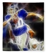 Eli Manning Quarterback Fleece Blanket