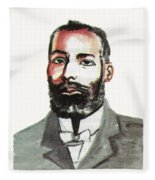 Elijah Mccoy Fleece Blanket
