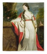 Elizabeth Gunning - Duchess Of Hamilton And Duchess Of Argyll Fleece Blanket