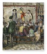 Elizabethan Theatre Fleece Blanket
